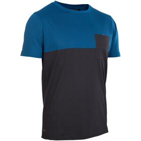 ION Seek AMP Camiseta Manga Corta Hombre, ocean blue